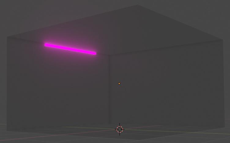 Eevee Completely Dark Room Is Still Dimly Lit Modeling
