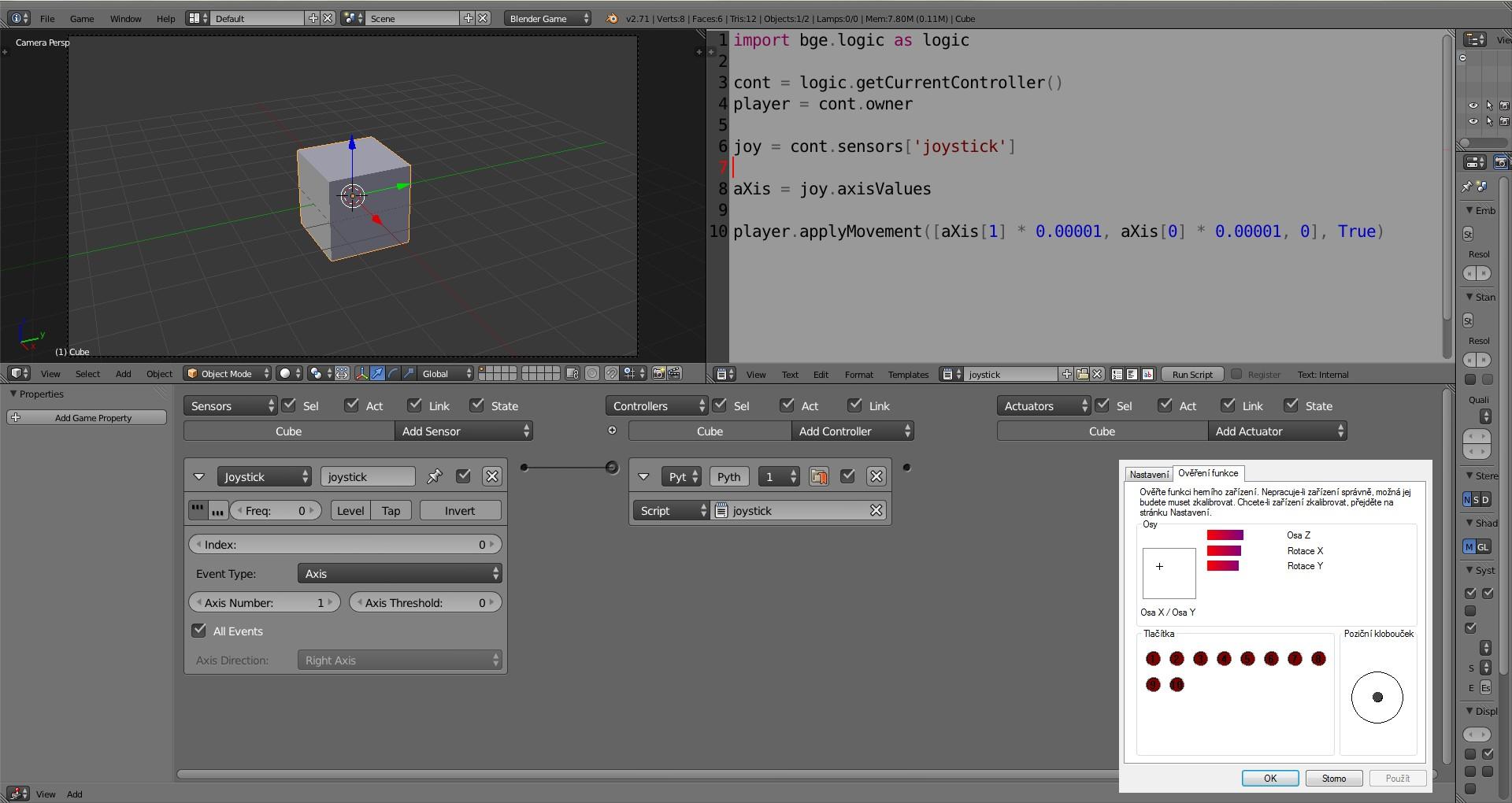 xbox controller input script problem - Python Support