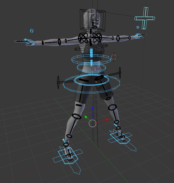 How Are Those Convenient Handles For Moving Bones Called Animation And Rigging Blender Artists Community