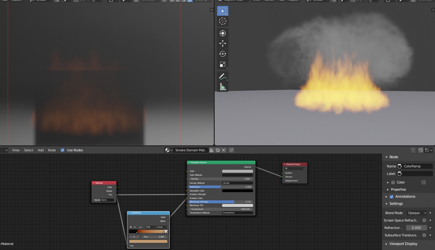 How to Realistic Fire in Blender 2 8 (EEVEE / Cycles