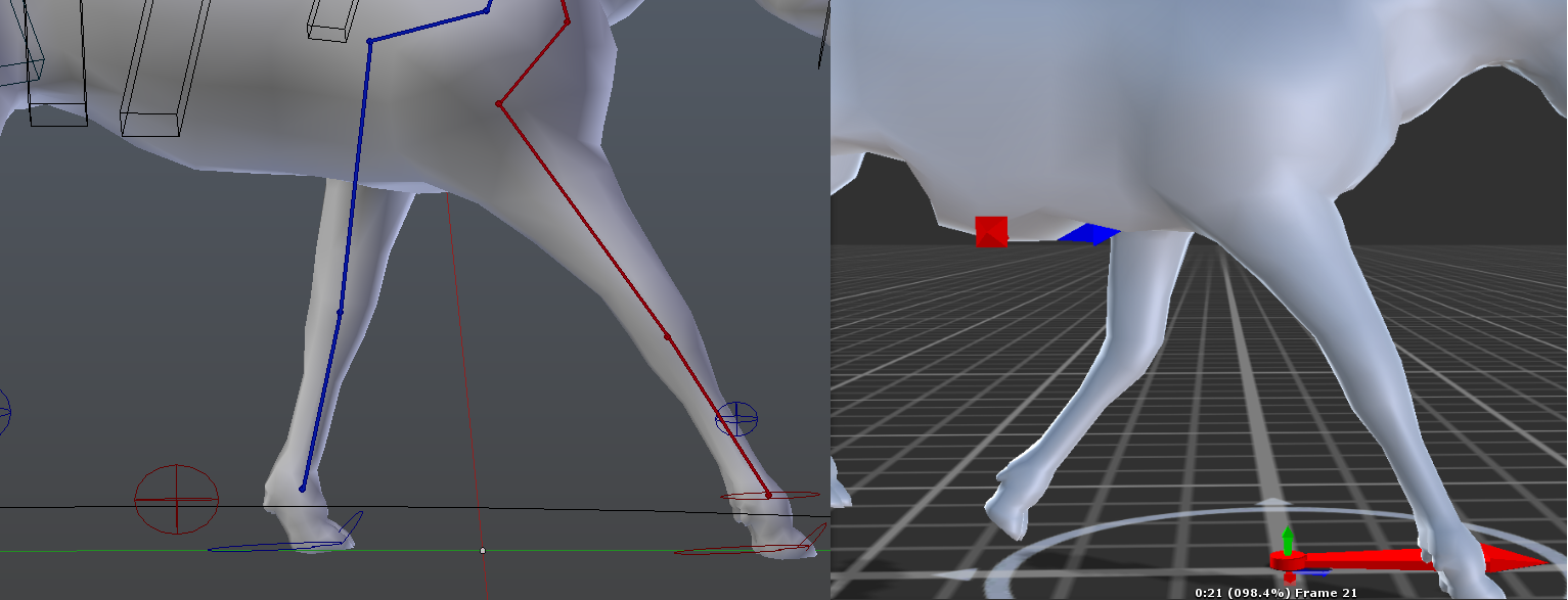 Deformed mesh after export animation to Unity - Other Software