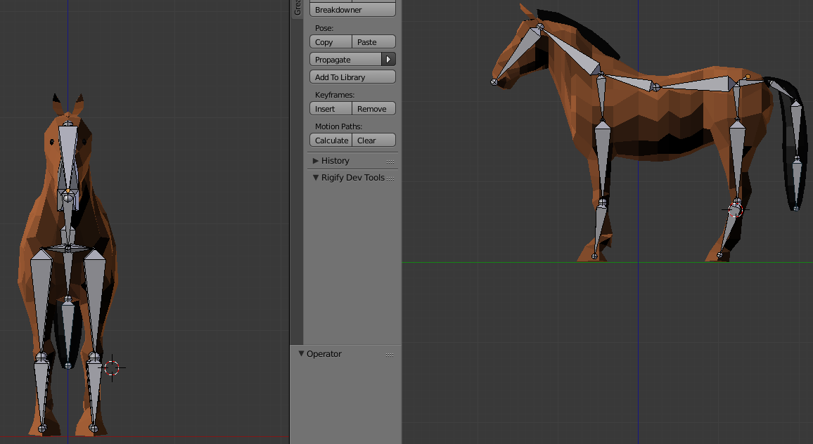 paras toimittaja klassikko puoleen hintaan Trouble rigging a low poly horse - Animation and Rigging ...