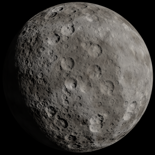Cycles Procedural Moon - Materials and Textures - Blender Artists