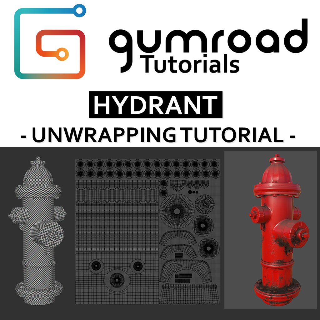 Hydrant - Unwrapping tutorial - Tutorials, Tips and Tricks - Blender