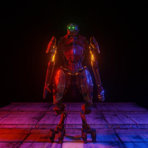 Red Robot Still