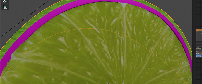 closeup lime help
