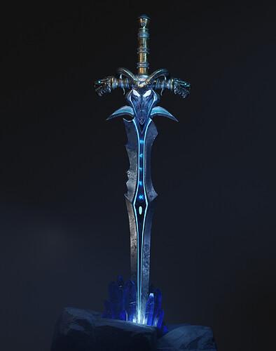 Lich King Sword