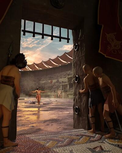 Miche-Miche_Gladiator_BehindTheScenes