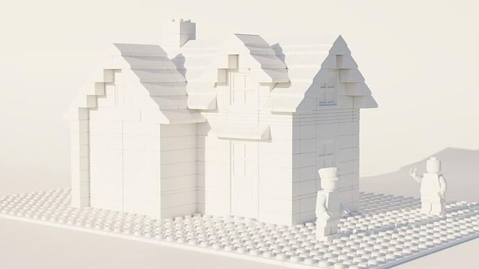 lego house clay