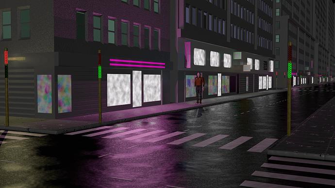 victim in street