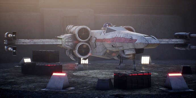 STAR WARS X-WING Movie Scenes (3)