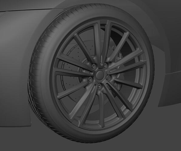 BMW i8 Wheels and brakes closeup