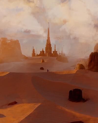 desert landscape-thumb