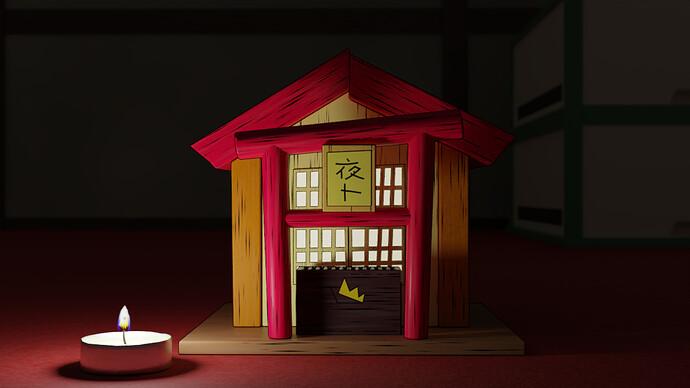 rigoletto: Yato's shrine