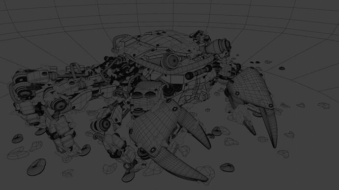Wireframe render3