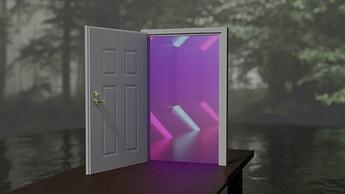 Door to Another Dimension