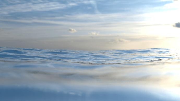 Bright Morning Ocean