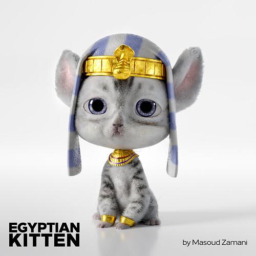 Egyptian kitten