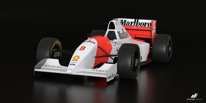 McLaren MP4-8 4