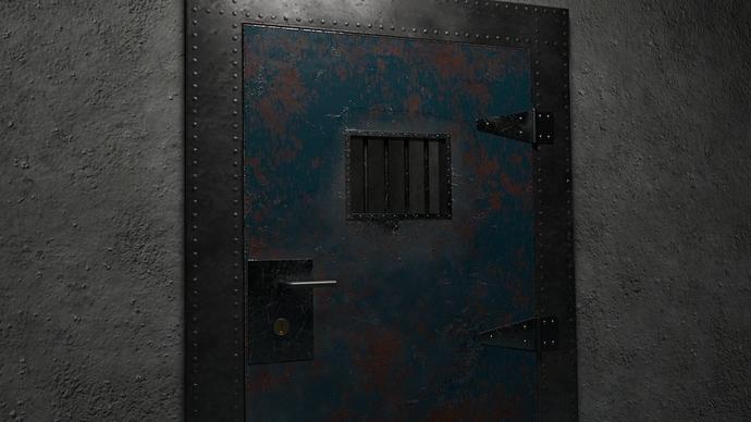 Cell Door 10