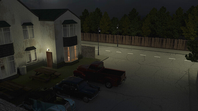 The Pub Night bright