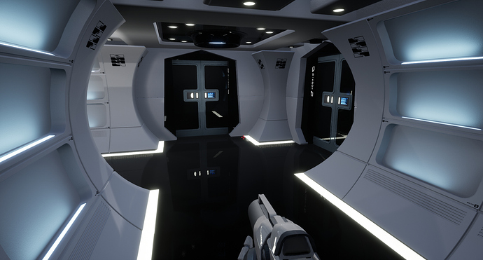 NCC-1701 Enterprise_Unreal Engine(WIP) (2)