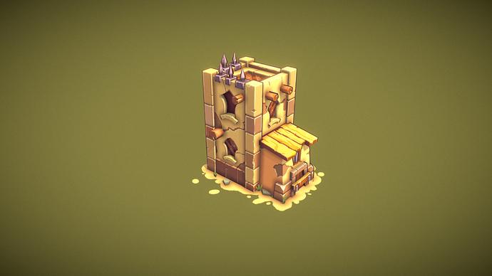 stylized_tower(2)