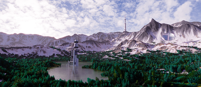 Sci-fi tower