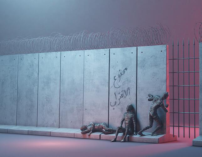 Segregation Wall LR