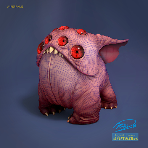 mike-red-render-wireframe