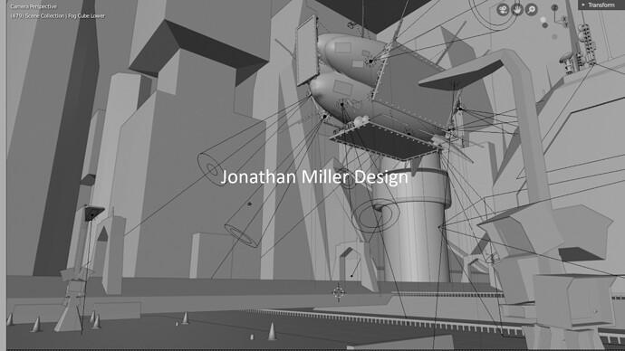 JMD Blade Runner Tribute Screen Capture Main View