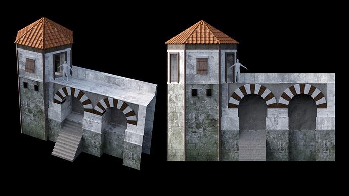 render walls