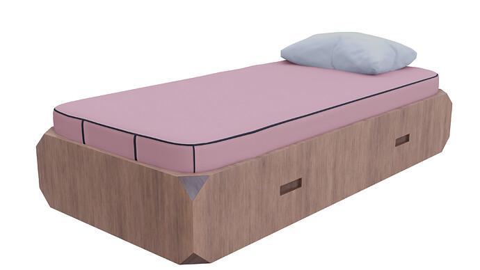 Pink_Bed Eevee