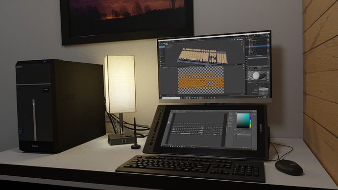 desktop scene 4