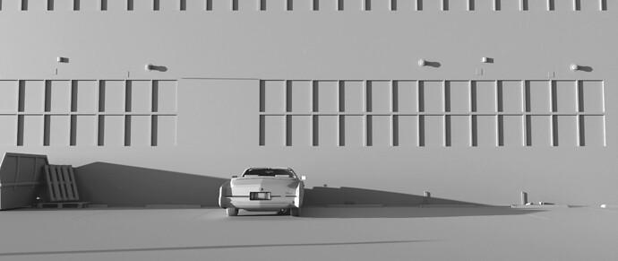 Parked Eldorado_CLAY