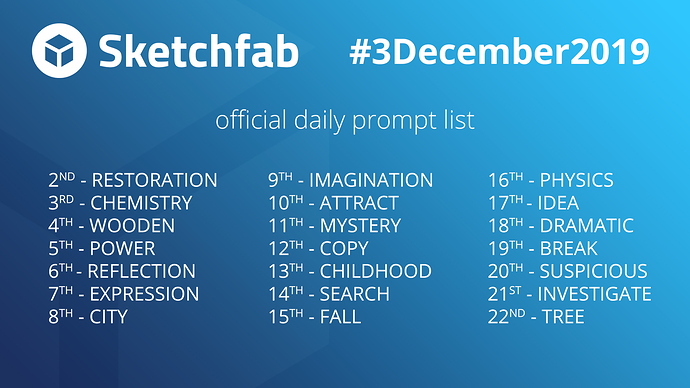 0-3December2019-daily-prompts-FULL-LIST