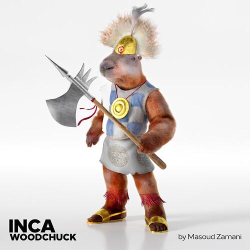 Inca Woodchuck