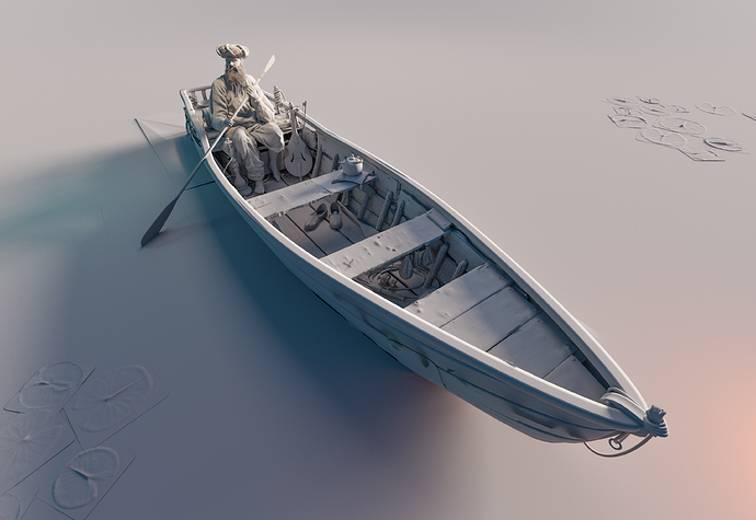 Life_on_a_boat_Jakob_Scheidt_clay_render