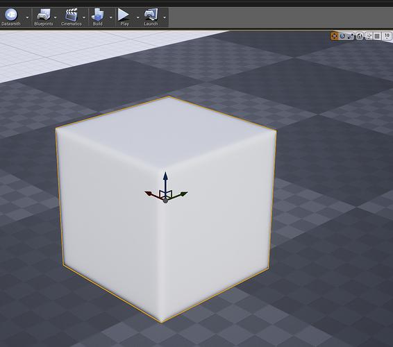 UE4_Cube