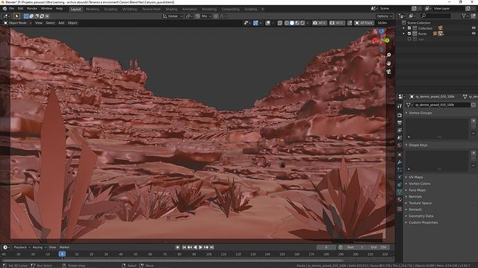 Canyon clay