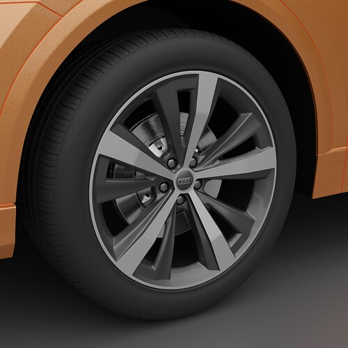 Test Render Brake Disks