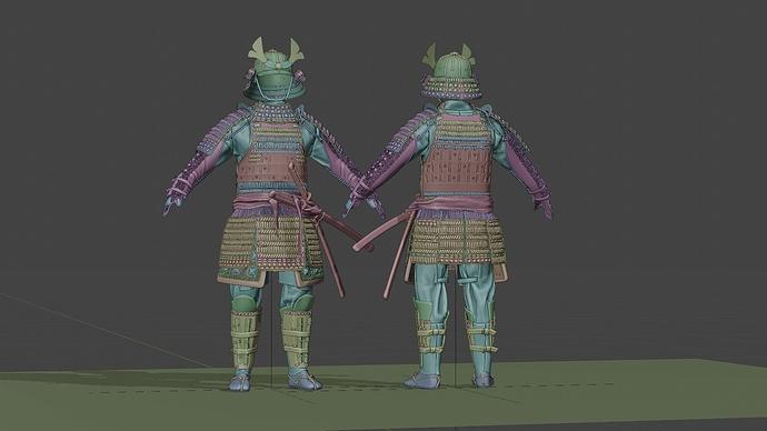 Medieval_Japanese_Samurai_A_CLAY_0001
