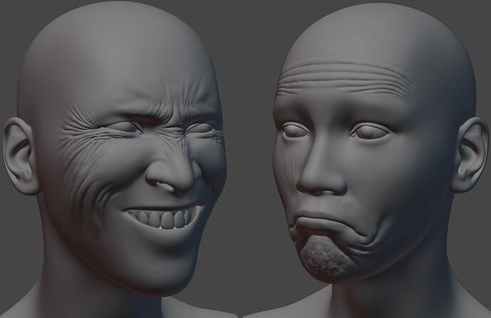Wrinkle Sculpts