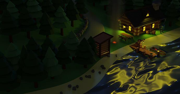 log-cabin-render