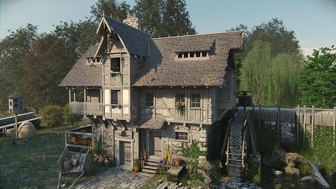 watermill side
