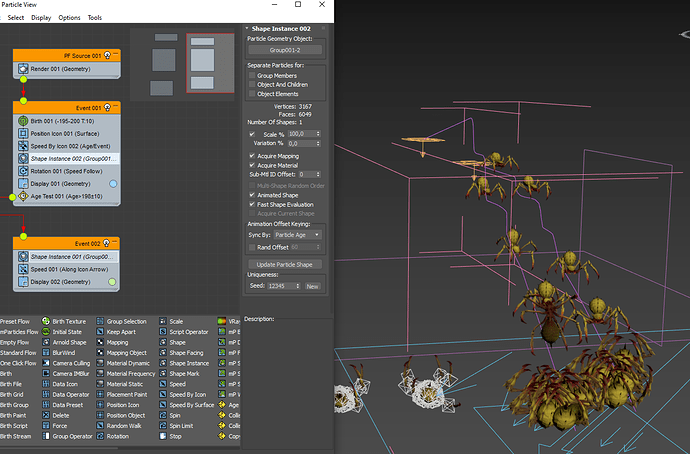 2020-12-14 12-07-50 Hang_Spider-20.max - Autodesk 3ds Max 2021