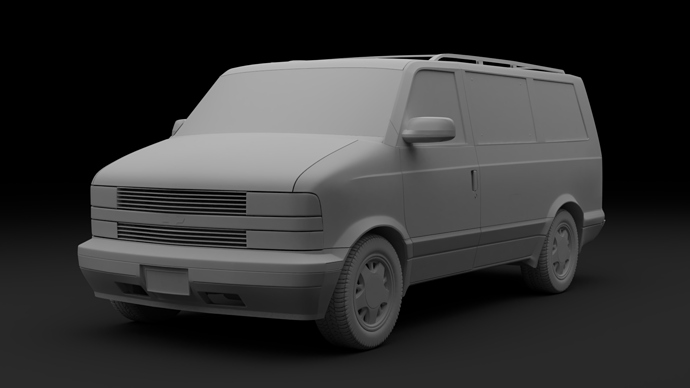 Chevrolet Astro 9