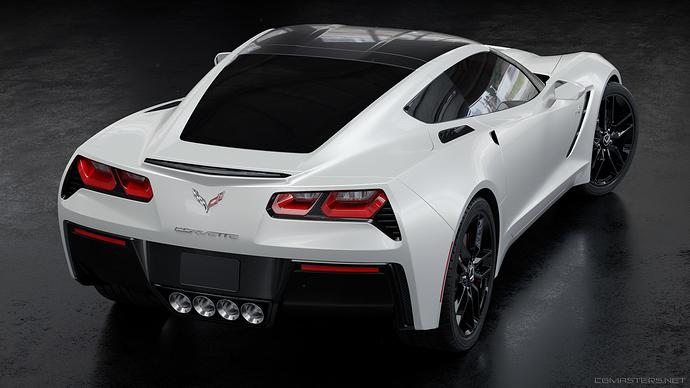 corvette_white_back