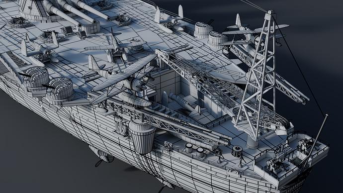 Yamato Wireframe 8