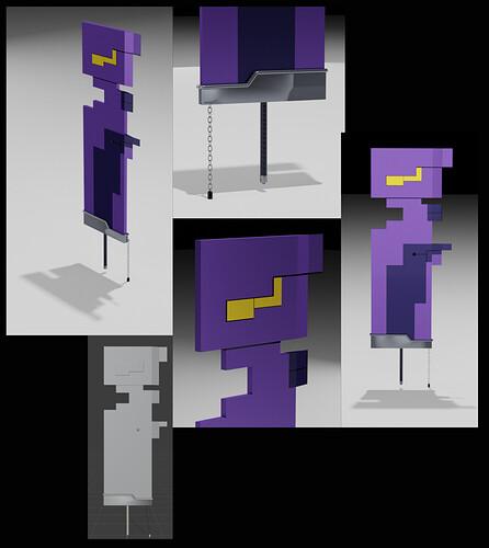 Purple XMv2 collage2